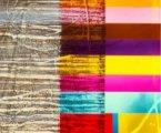 """Didier Sancey, """"Qui a peur de la couleur ?"""", verres thermoformés, 2006"""