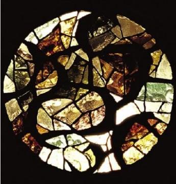 Rosace pour l'église St-Orens à Auch(Gers - 1969).